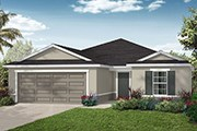 New Homes in Jacksonville, FL - The Sutton Modeled